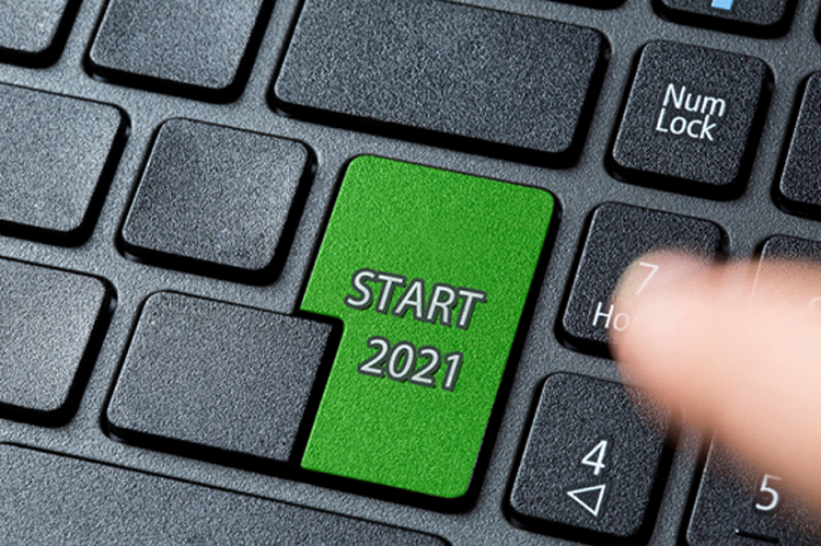 2021 starting button